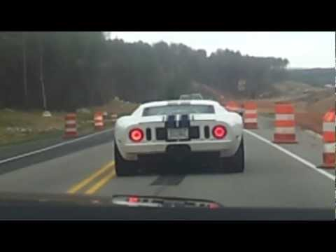 Watch Ford GT Run From Police!